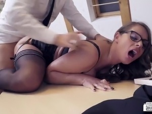 Office girls getting fucked