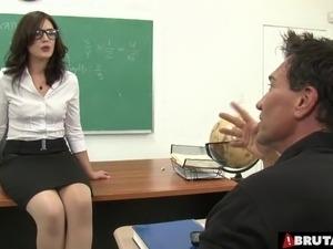 Sex teacher fucking