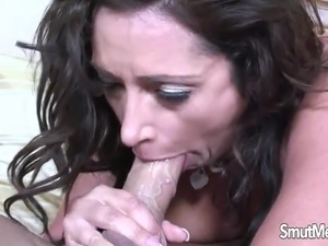 hot girl huge facial