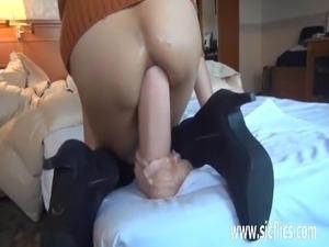 sweet asian anal