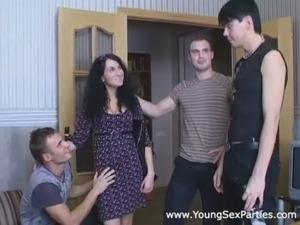 big tits gangbang video