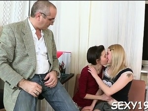 student touch teacher pussy