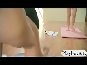 teen naked yoga