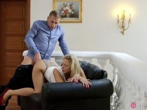 Hot blonde girls video