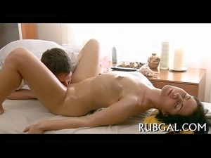 bare butt anal massage