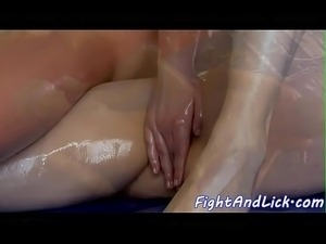 female naked oil wrestling videos