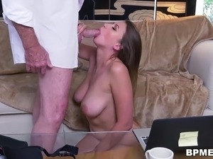 Sex old man and girl