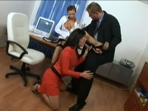 the office girls swiss porn