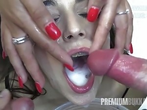 hardcore girls swallowing