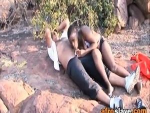 dark black african pussy