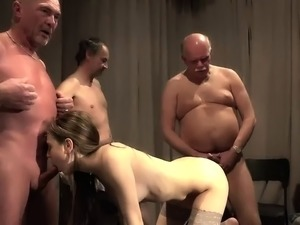 black sex gangbang