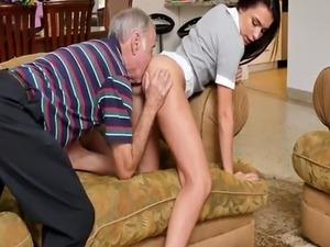 Old man sex girls