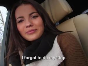 Masturbating in car video