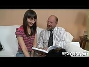 young girls pussy gets abused