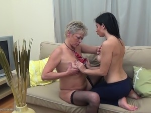 mature lesbians sucking eachothers nipples