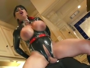 tight latex pussy rubber slut