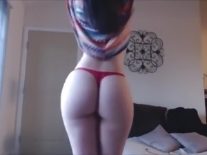 redhead dances naked hot video