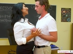 black girl glasses blowjob