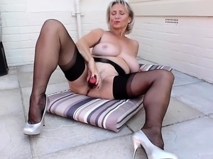 stocking porn lesbians