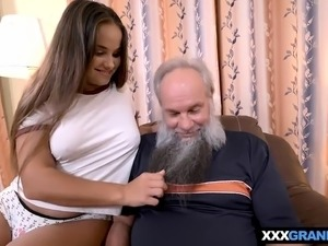 old man threesome sex