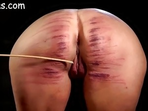 mature woman caned videos