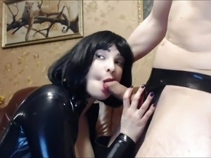 mature sex latex