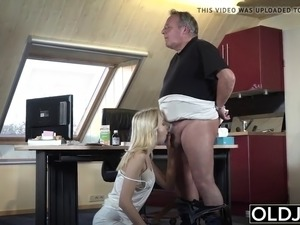 Old man fuck girl