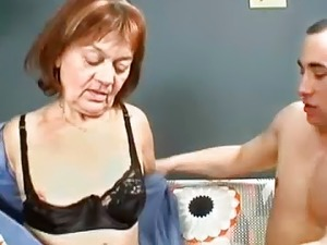 amateur granny home video