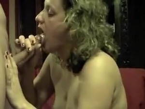 glamour porn retro cum in mouth