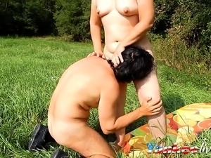 outdoor ebony cowgirl sex