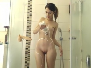 Nude shower video