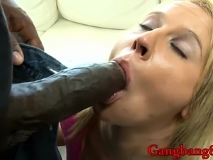 white wife black gangbang