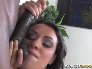 husband watching wife fuck black guy