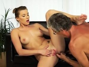 granny anal fingering