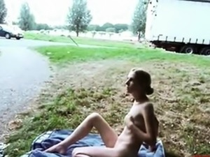 exhibitionis in public flashing video