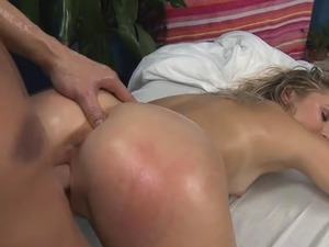 Asian vagina massage
