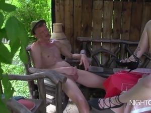 German girl getting fucked