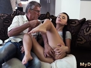 old mans fucking young girl