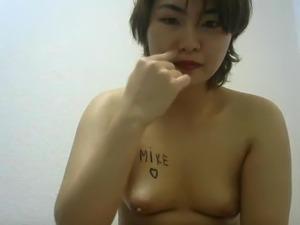 lesbian clitoris to nipple breast sex
